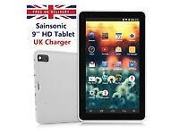"NEW: - White 9"" Pad Android 4.4 Tablet PC, Ebook, 16GB, Quad Core, Dual Camera"