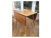 Ercol Original Dining Table, Beech and Elm, Beautiful Condition.