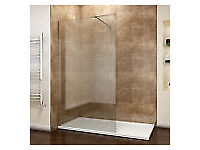 New boxed 8mm glass walk in showep panel 800 x 1950mm
