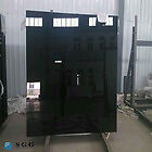 2 BLACK TEMPERED GLASS SHEETS