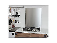 Stainless Steel Splashback 1.2mm Thick - 600mm x 600mm, new