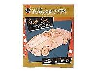 Classic Curiosities: Sports Car Construction Kit & Quiz Book: Brand New