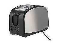Toaster - Cookworks Stainless Steel 2 Slice Toaster NEW !!!