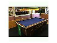 Pub pool professional table