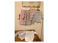m and s marks and spencer girls bundle 0-3 (11 items)