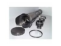 Nikon DIGITAL fit 500mm 1000mm tele lens D3100 D3200 D3300 D3400 D5200 D5300 +
