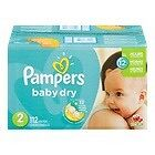 Pampers Size 2 diapers