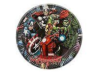 Avengers 23cm Party Plates