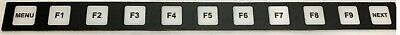 Hitachi Seiki Cnc Keypad Membrane Control Panel Overlay - Hs1001