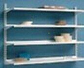 Heavy Duty Metal Shelving, Including all Accessories - Adjustable