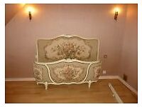 Beautiful French double Corbeille bed