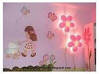 IKEA KIDS SMILA BLOMMA FLOWER LAMP - IN EXCELLENT CONDITION