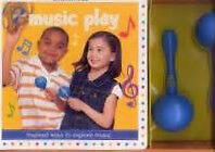 Gymboree Music Play Book - Comes with Maracas