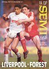 * 1989 FA CUP SEMI-FINAL LIVERPOOL v NOTTINGHAM FOREST (HILLSBOROUGH DISASTER) *