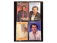 4 David Alexander Cassette Tapes