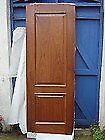 NEW SOLID MAHOGANY WOODEN INTERNAL WOOD DOOR VICAIMA 204 x 72.6 x 4cm