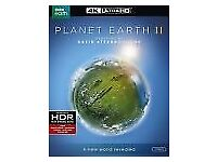 Planet earth II 4 disc dvd 4k Ultra HD & Bluray brand new unopened narrated by David Attenborough