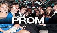 Brampton limousine  prom 299 wedding 499 ☎️416-407-7355