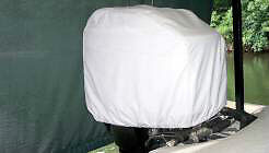 Westland Small 22 X 18 X 16 Outboard Motor Hood Cover
