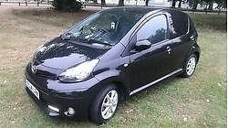 Toyota Aygo VVT-i Black 5 Door Free Road Tax