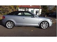 Audi A3 Cabriolet - 11 Plate - FULL SERVICE HISTORY + SLINE (Part Leather/Sport Mode) + PARKING AID
