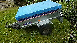 Franc Trailer GE139 - suitable for camping