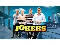 2 x Impractical Jokers Tickets @ The O2, London, 15th January 2017