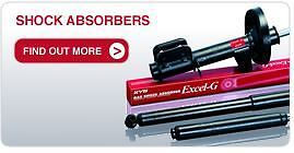 KYB Front Left Shock Absorber fit  AGILA WAGON R+ 333307