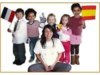 LCF (UK) ltd seeks 4x French and/or Spanish club animators for a kids Saturday language club.
