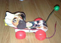 Vintage Fisher Price pull dog toy for sale London Ontario image 1