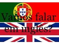 Learn English in Portuguese - Aprender inglês em português