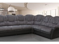 BRAND NEW TEXAS SOFAS***LEATHER & FABRIC ***LEFT/RIGHT CONRERS***3+2 SEAT SETS*** VARIOUS COLOURS