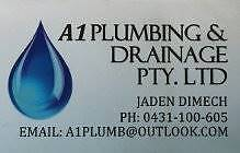 A1 Plumbing & Drainage PTY.LTD Local plumber Sunshine North Brimbank Area Preview