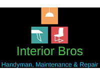 INTERIOR BRO'S* Handyman services, Contracted experience 9+ years each, Small team of 4