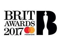 Brit Awards 2017 ticket
