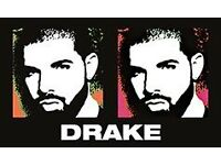 Sold Out 2x Drake 14th Feb Valentines Standing centre area.