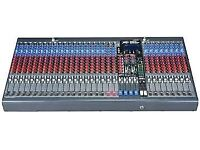 Mixing Desk and Stage Equipment