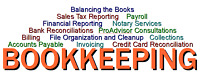 *****BOOKKEEPER AVAILABLE*****