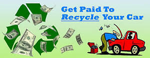 CASH FOR SCRAP CARS AT WPG AUTO RECYCLING 204-292-2192!!!