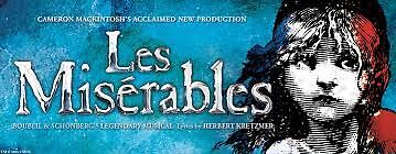 Les Miserable QPAC Brisbane x2 Tickets Reedy Creek Gold Coast South Preview