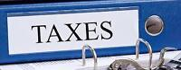 """Personal Tax for $25 (Single)/ $45 (Couple) """"unlimited slips"""""""