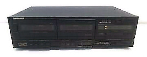 """Vintage Pioneer Stereo Double Cassette Deck CT-980W"""""""