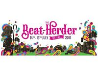 Beatherder Festival 2xTickets. 14th-16th July.