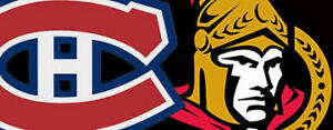 SATURDAY NIGHT HOCKEY! SENS VS HABS IN MONTREAL ON MARCH 25TH !