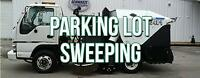 Parking Lot Sweeping/ Power Sweeping