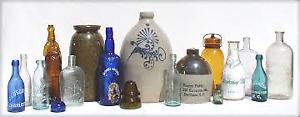 Antique Bottles/Insulators/Jars/Ginger Beers/Crocks