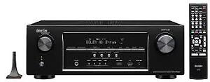 Denon Receiver AVRS700W 4K Ultra HD A/V Receiver w/ Bluetooth