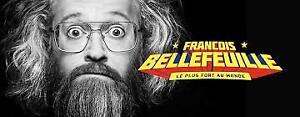 FRANCOIS BELLEFEUILLE 14 SEPTEMBRE ST-EUSTACHE BILLETS RANGÉE 1