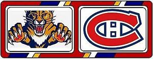 4 billets Blanc Central AA Canadiens vs Panthers 15 janvier 2019
