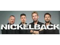 Nickelback standing ticket